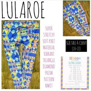 LuLaRoe Leggings Size Tall & Curvy Legging NWOT